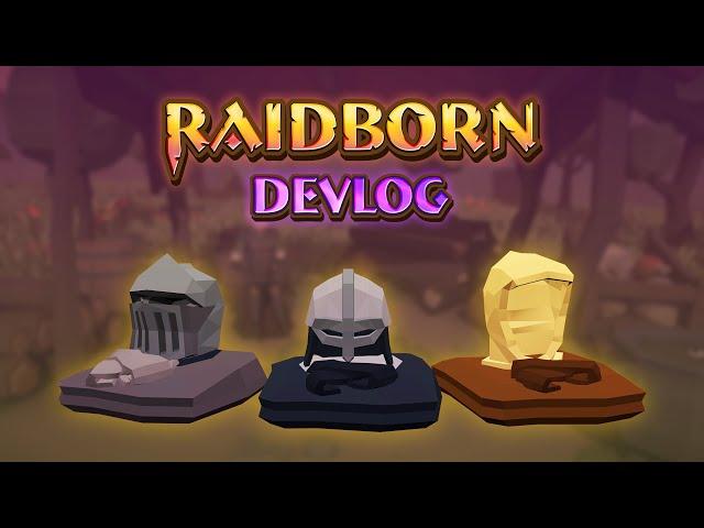 Mighty New Armors | Raidborn Devlog (2019)