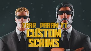 Pc & console custom Games // Fortnite India live // road to 500 subs