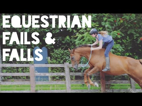 Equestrian Fails, Falls and Funny Moments