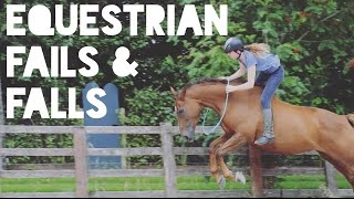 Video Equestrian Fails, Falls and Funny Moments download MP3, 3GP, MP4, WEBM, AVI, FLV Januari 2018