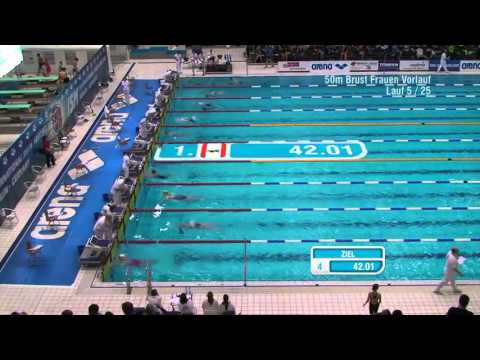International Swim Meeting 2015 (Berlin) - WK 17 50m Brust Frauen Vorlauf