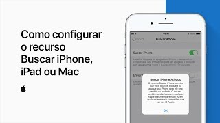Como configurar o recurso Buscar iPhone, iPad ou Mac – Suporte da Apple