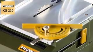 Настольная циркулярная пила PROXXON  KS 230