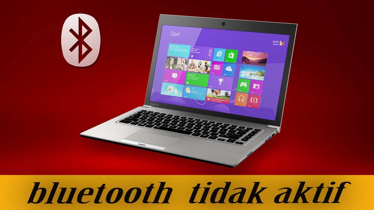 Cara Mengaktifkan Bluetooth Laptop Di Windows 10 Youtube