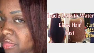MIRACLE GROWTH WATER™️ GROW LONGER THICKER  HAIR  ( Customer Pictures)