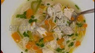 Рецепт мужского куринного супа