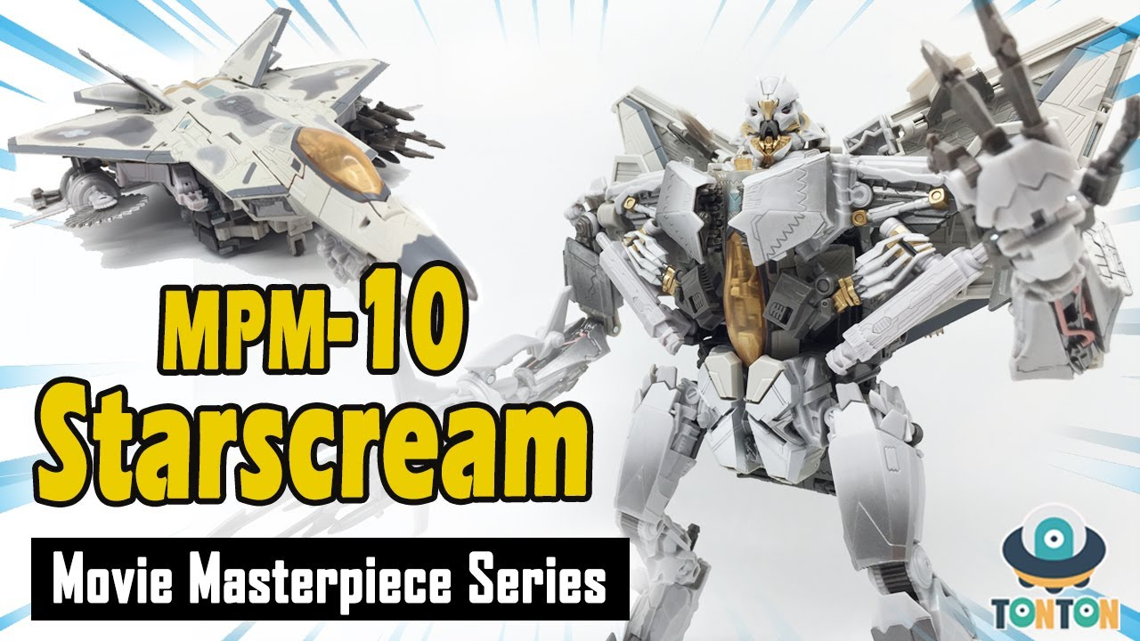 Movie Masterpiece MPM-10 Starscream Video Review
