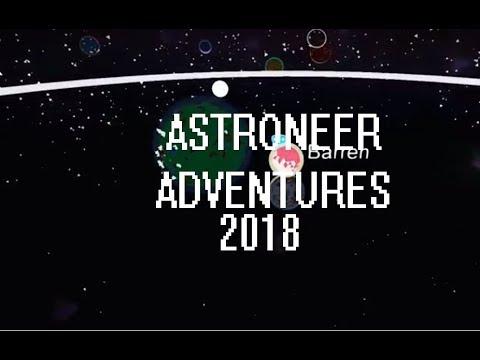 Astroneer - Adventures 00:01 - Giant Solar Salvage & Boosters