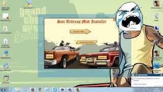 Como Baixar e Instalar o San Andreas Mod Installer e Microsoft NET Frameworks