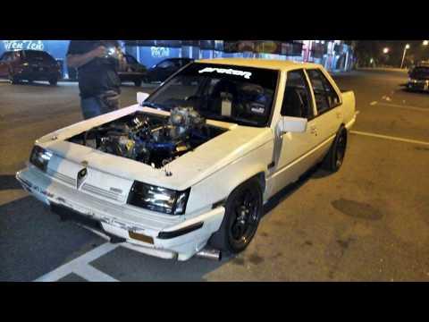 Proton Saga V8 Engine Toyota VH41DE - Lie Rvr