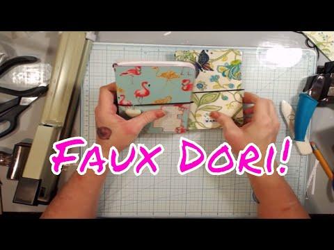 Live Stream - Laminated Mini Faux Dori!