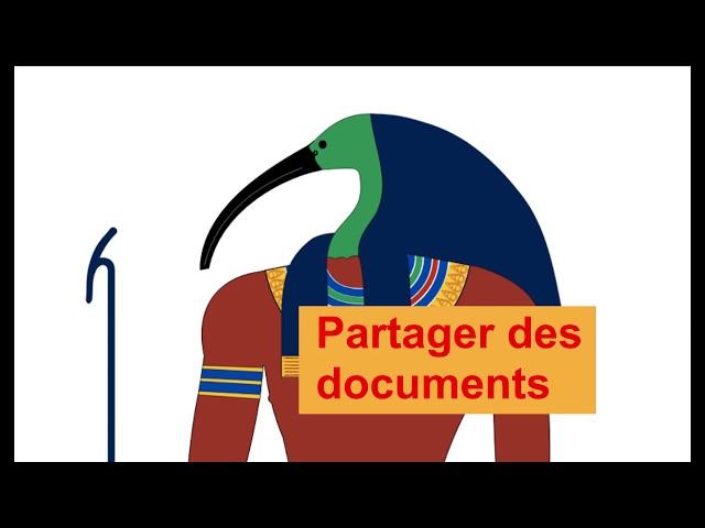 Le partage de documents sur Isnd/peda