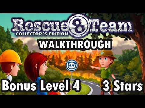 Rescue Team 8 - Collector's Edition - Bonus Level 4 - 3 Stars (Walkthrough) |