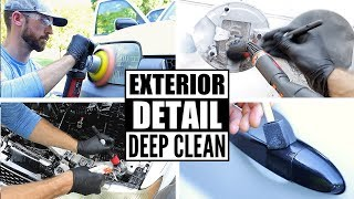 Complete Full Car Exterior Detailing! Cleaning A Ford Escape