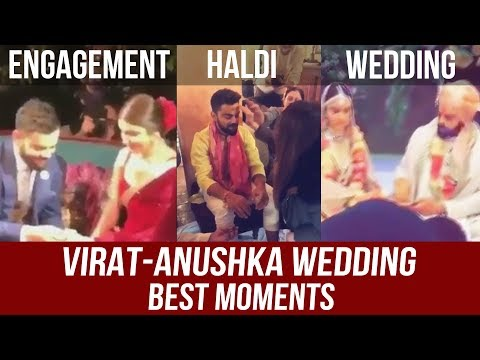 Virat Kohli - Anushka Sharma | Engagement | Haldi | Wedding FULL VIDEO
