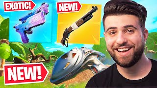 Everything Epic DIDN'T Tell You in The HUGE Patch! (New Pump, Exotics + MORE) - Fortnite Season 5