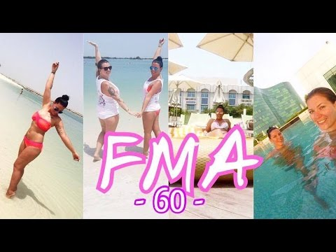 Beach & Pool Time in Abu Dhabi l FMA 60