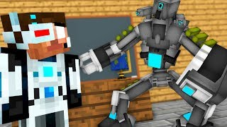 Monster School : Brewing Robot Challenge - FUNNY minecraft animation