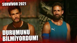 BATUHAN, DORA'DAN ÖZÜR DİLEDİ!   Survivor 2021