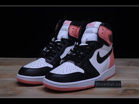 Air Jordan 1 Retro High OG NRG  Rust Pink  861428 101 - YouTube a789aec1c