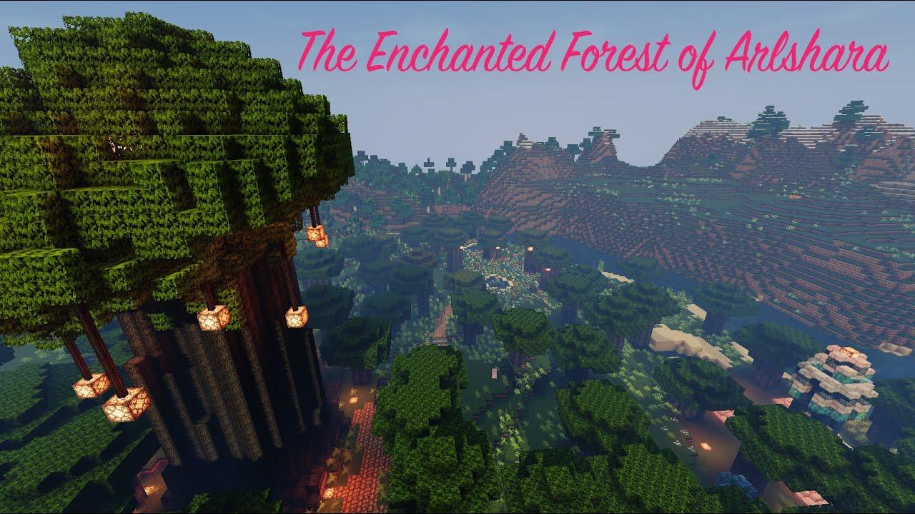 Зачарованный лес майнкрафт
