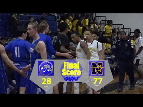 Princeton 28 Nottingham 77 Boys Basketball highlights