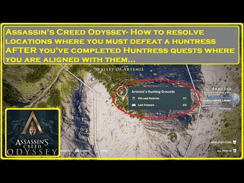 Assassin's Creed® Odyssey-Resolving Huntress Locations thumbnail