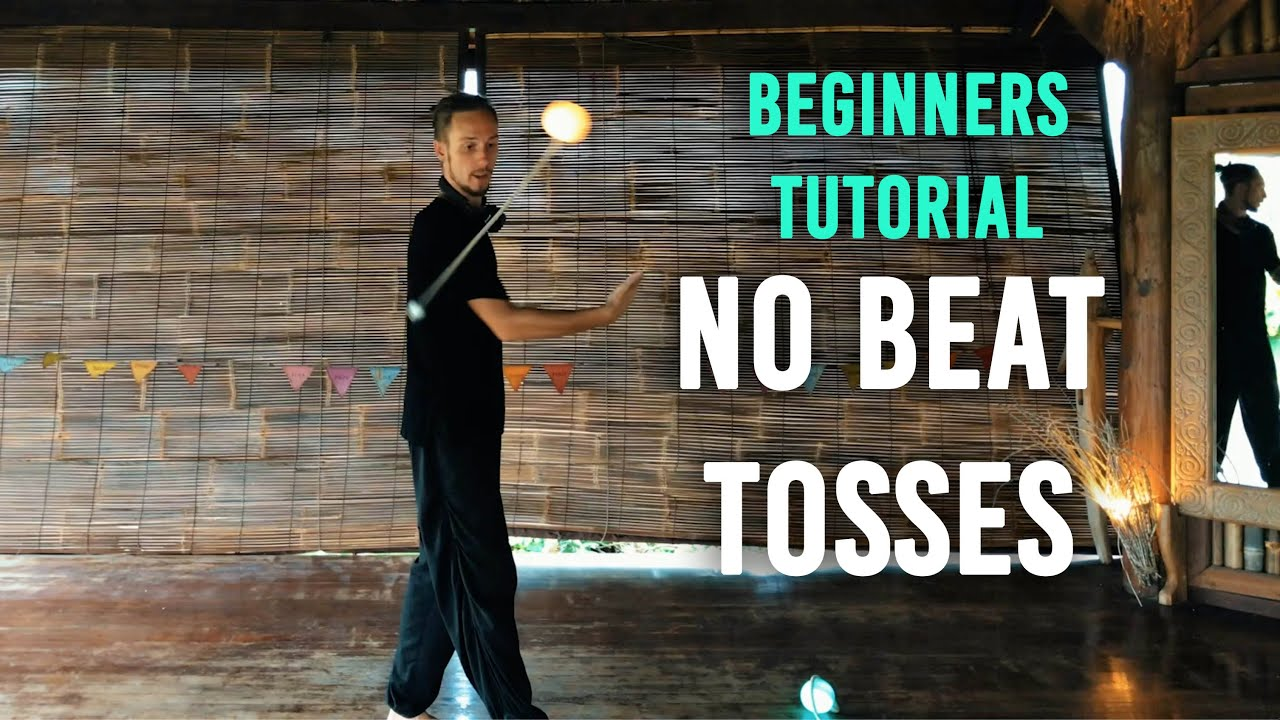 Download Beginners Poi Tutorial: No Beat Tosses (Intro to Behind the Back tosses)