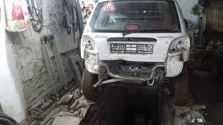 DAEWOO  MATIZ 2012/Авто после ДТП.Обзор повреждений.