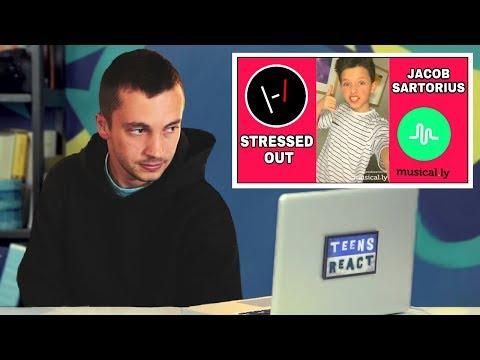 TYLER IN TEENS REACT l TØP MUSICALLYS (Reaction)
