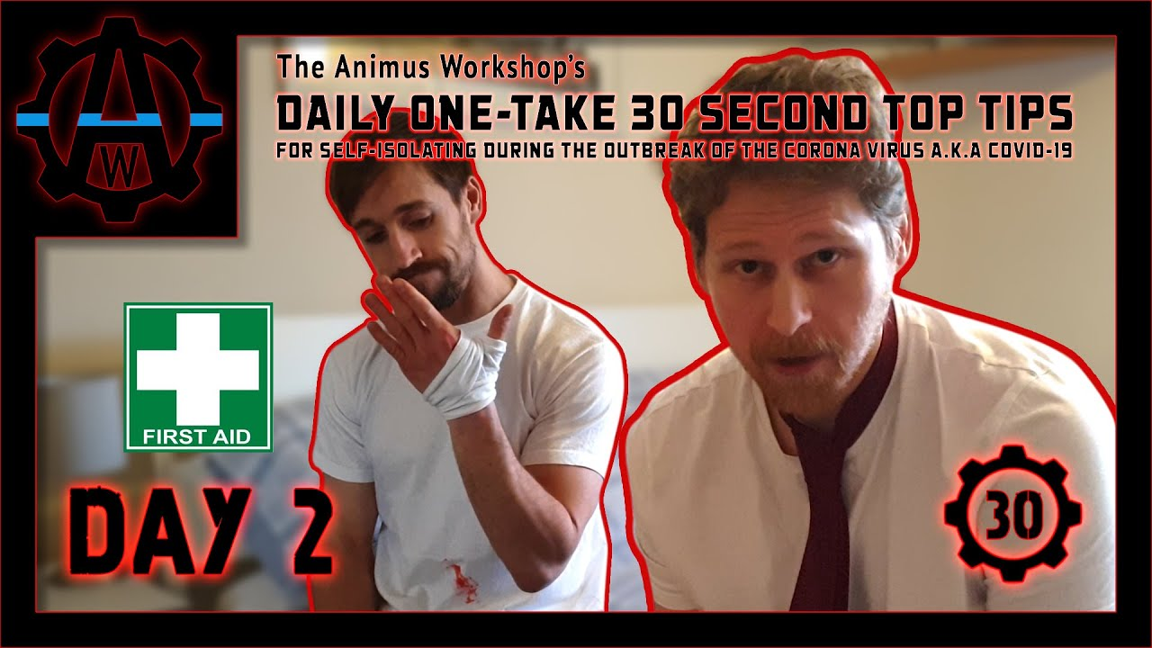 Day 2 | The Animus Workshop's Daily One-Take 30 Second Top Tips For Self Isolating During the Out...