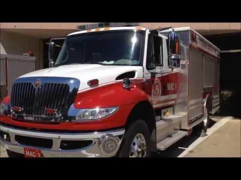 PITTSBURGH BUREAU OF FIRE STRIP DISTRICT STATION 3 MAC1 TRUCK WALK AROUND IN PITTSBURGH, PA.