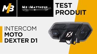 Intercom moto Dexter D1, l'essai vidéo par Mr iMattheus