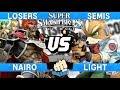 Collision 2019 Losers Semis - Nairo (Ganondorf) vs Light (Fox) - Smash Ultimate