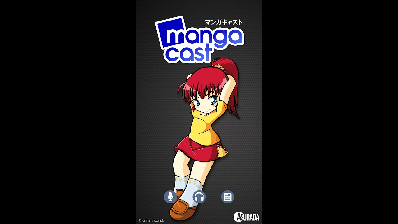 Mangacast, L'application