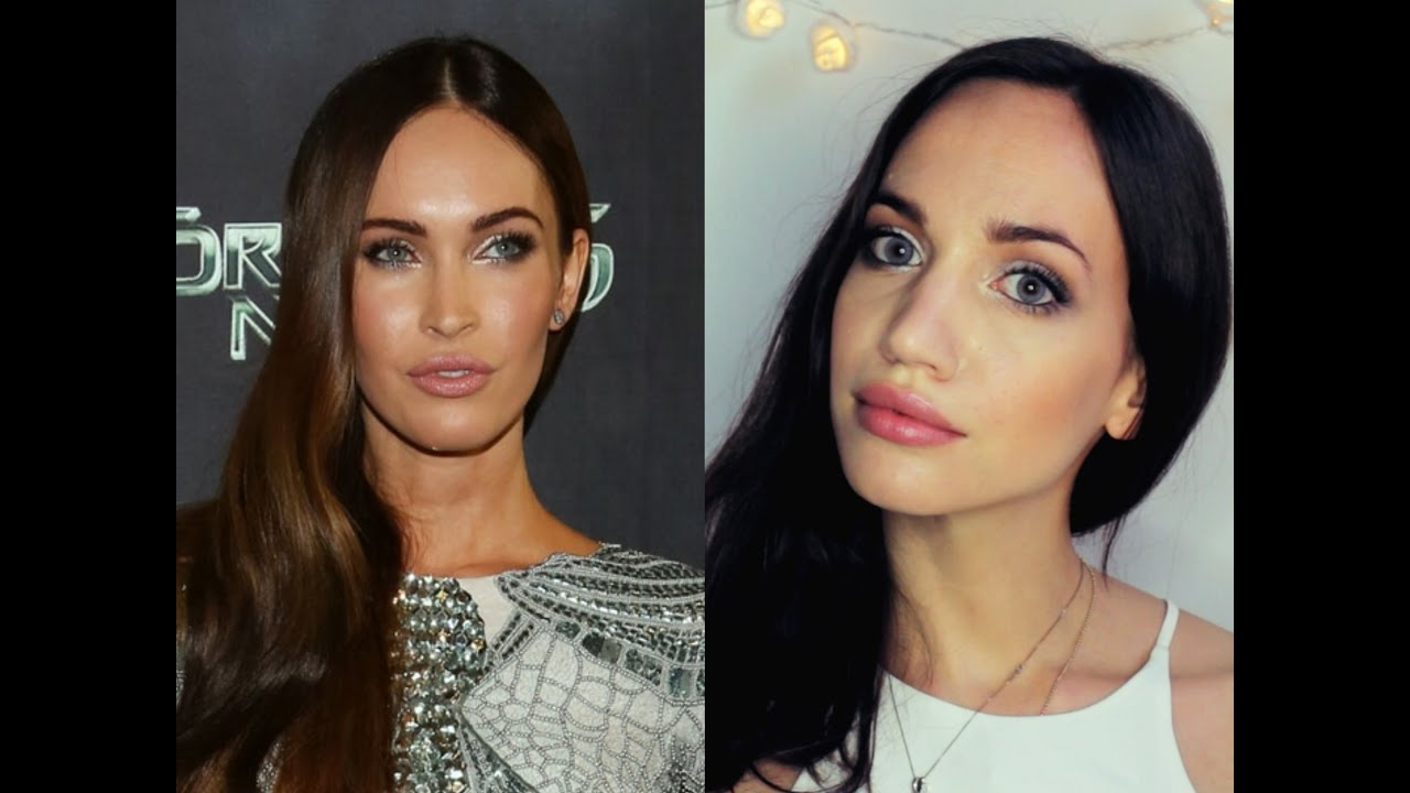 megan fox makeup tutorial transformation rademakeup