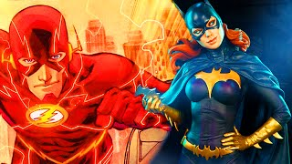 AMAZING CHARACTERS & INSANE DAMAGE - Injustice: The Flash, Deathstroke & Batgirl Gameplay