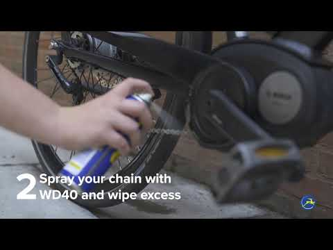Cleaning your Gazelle eBike