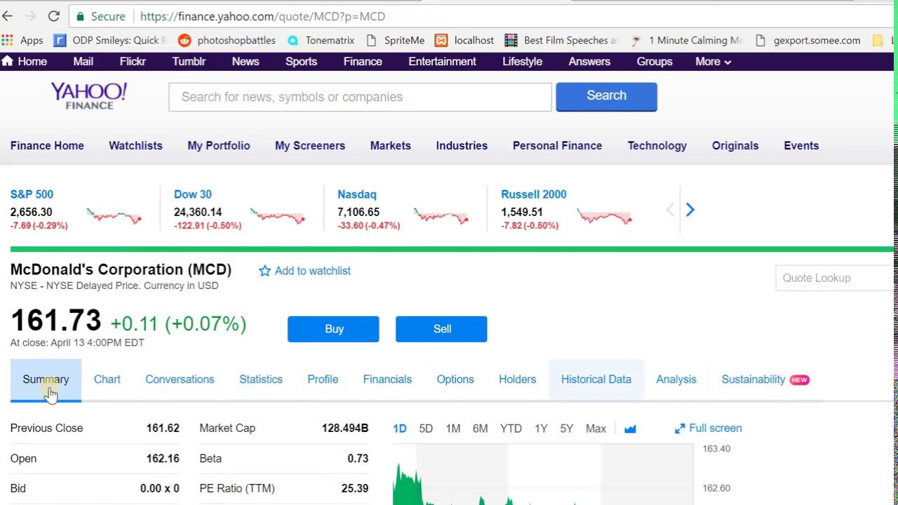 Get Options data using Google Sheets and Yahoo Finance
