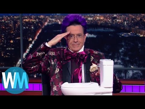 Top 10 Most HILARIOUS Stephen Colbert Moments