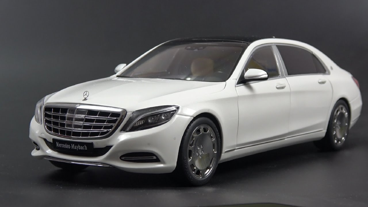 1/18 autoart mercedes maybach s class (s600) review - youtube