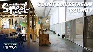 Court 6 Livestream - Rd 1 - Open International de Squash de Nantes 2018