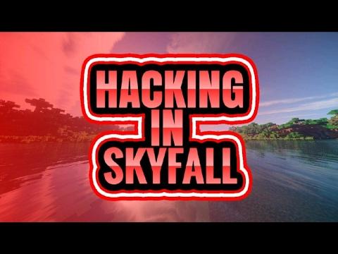 HACKING IN MCPE MINEPLEX SKYFALL