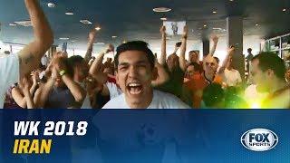 WK 2018   Feestende Iraniërs: