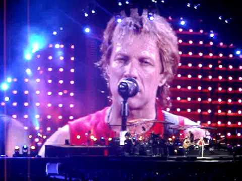"Bon Jovi, ""Wanted Dead or Alive,"" 7/9/10, New Meadowlands Arena"