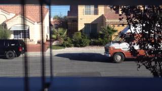 Ice Cream Truck past the window Thumbnail