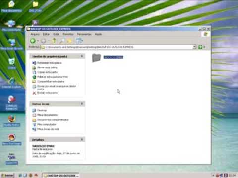 Backup Dados Outlook Express