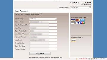 Bei Clickbank mit Lastschrift bezahlen