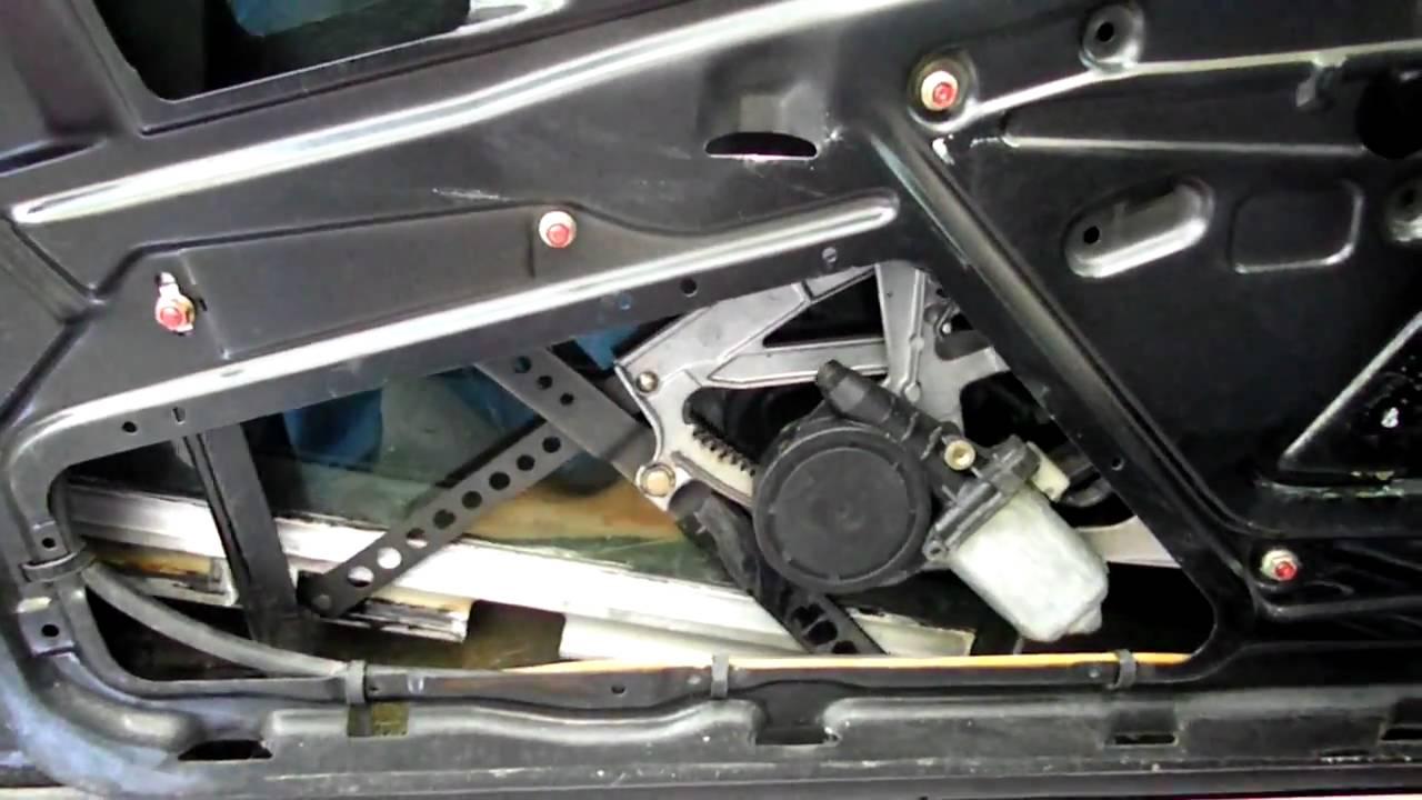 Mercedes w201 Fensterheber defekt - YouTube
