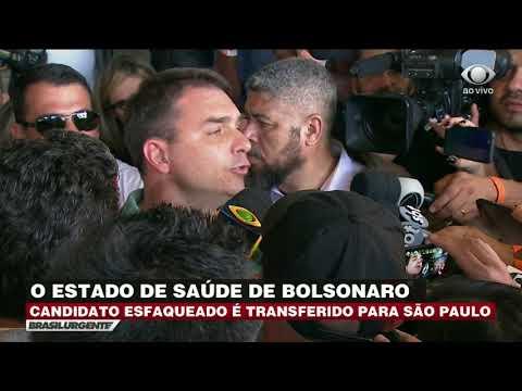 Tudo indica que foi premeditado, diz Flávio Bolsonaro